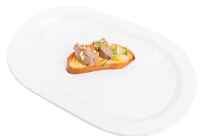 美味烤鸡肝酱法棍