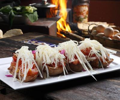 西红柿和奶酪法棍