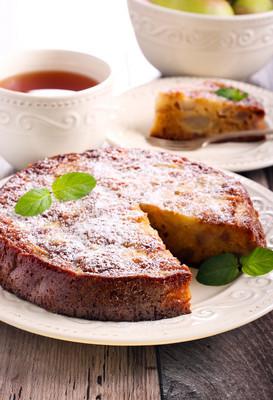 梨海绵蛋糕