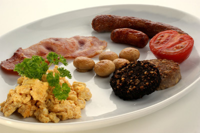 传统的爱尔兰早餐