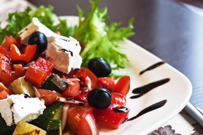 希腊地中海沙拉