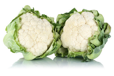 孤立的花椰菜蔬菜