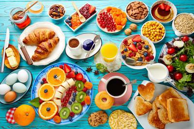 早餐自助健康大陆咖啡