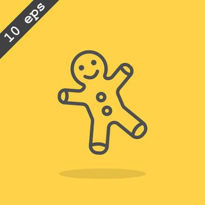 姜饼人图标