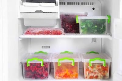 冰箱的食物