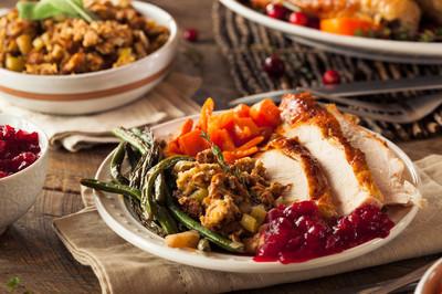 全自制感恩节晚餐
