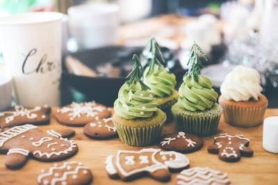 圣诞姜饼自制食品