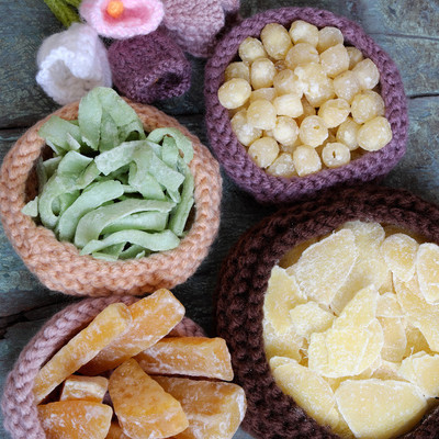 越南食品,Tet,果酱,越南农历新年