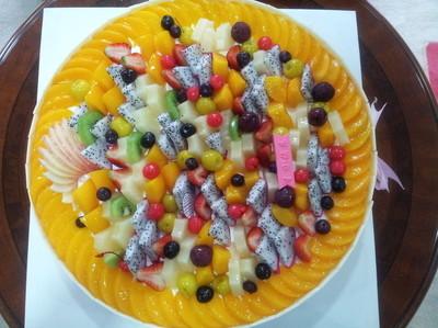 好吃的各种水果,汇聚一起,就等你来