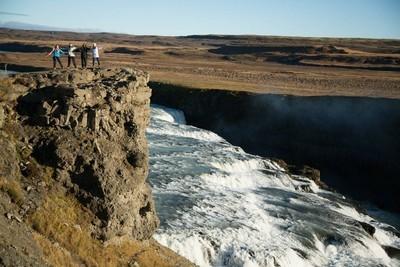 冰岛风景。美妙的冰岛自然风景。美丽的自然