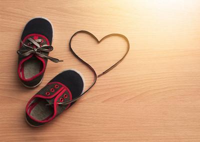 儿童鞋是爱运动的象征