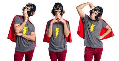 超级英雄猴人思考