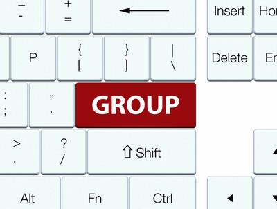 组棕色键盘按钮