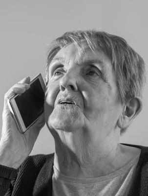 老妇人和新技术