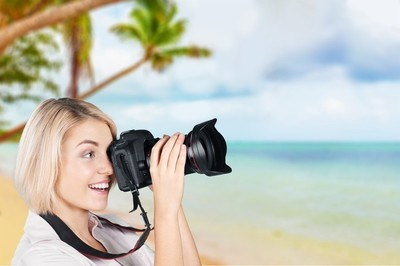 摄影师,相机,摄影