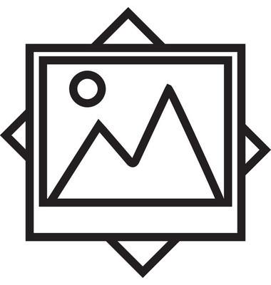 Landscape Line Vector Icon Editable