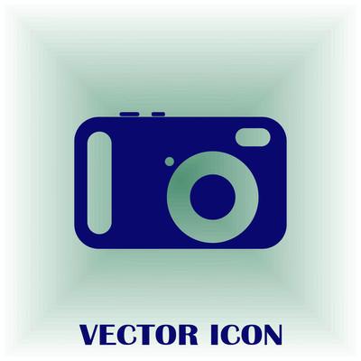 照片相机矢量图标