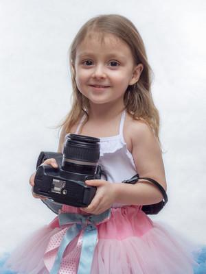 年轻的摄影师