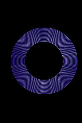 创建使用光绘画的紫色光戒指