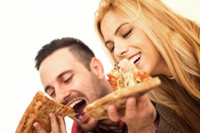 几个吃披萨