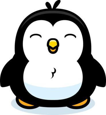 卡通企鹅宝宝