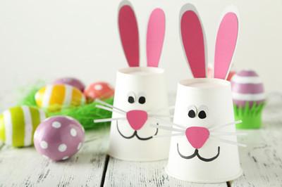 美丽的复活节兔
