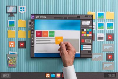 Web 设计师起草 web 模板
