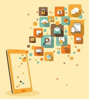手机应用程序概念