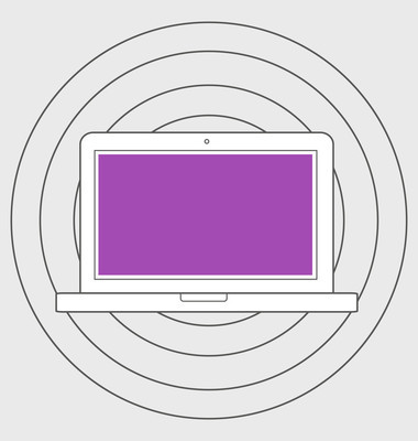 响应的 web 设计图标的插图