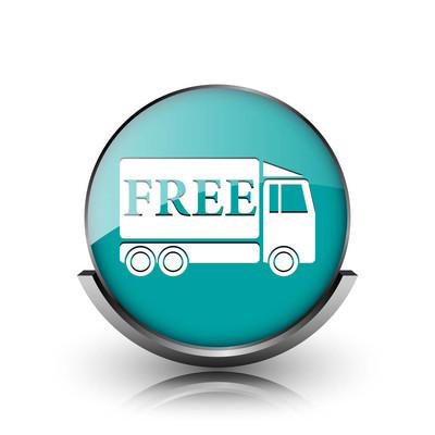 免费送货卡车图标