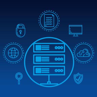 安全系统技术图标