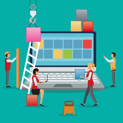 行业应用程序和施工设计