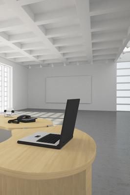 现代办公 loft 风格