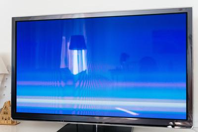 大型现代 4k 电视等离子电视