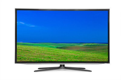 Flat television  4k monitor