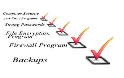 计算机安全检查表