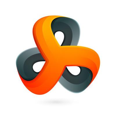 Abstract logo vector.