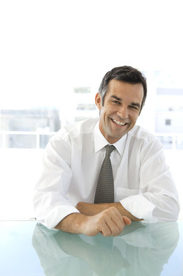 Middle aged Business Executive Officer