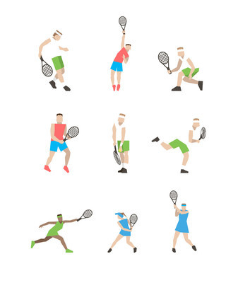 职业网球选手