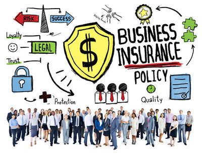 People and Business Insurance Concept