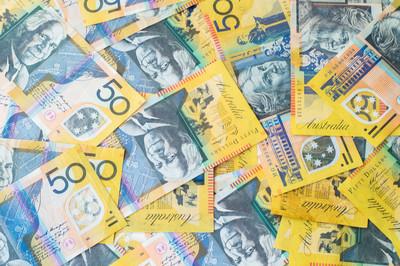 澳大利亚货币澳元货币背景