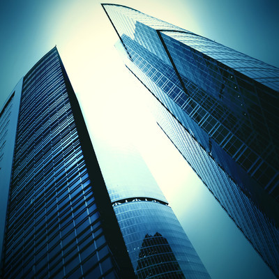 未来派摩天大楼
