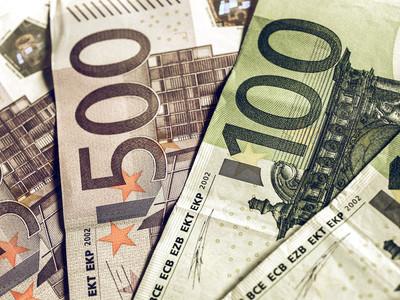 老式的欧元图片