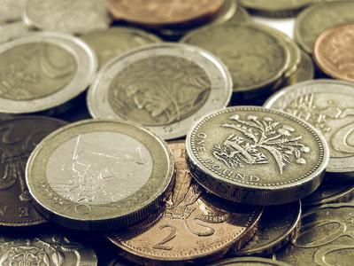 老式的钱图片
