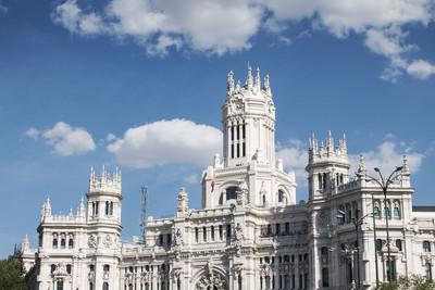 马德里市政厅或通信宫前
