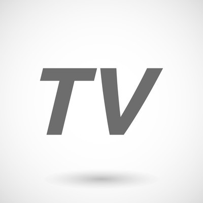 Illustration of    the text TV