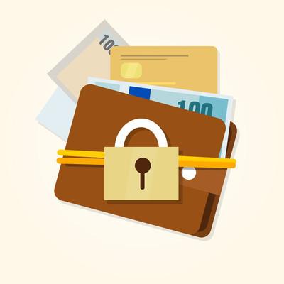 钱保护安全金融钱包安全