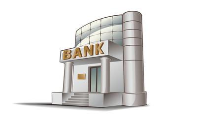 银行矢量图