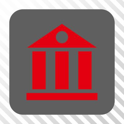 银行大楼圆形方形按钮