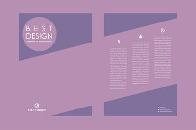 宣传册,海报设计模板